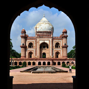 through the gates by Siddhartha Chitranshi - Buildings & Architecture Public & Historical ( tomb, safdyrjung, monument, india, delhi )