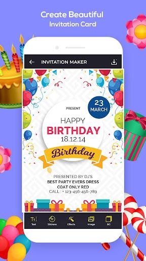 Foto do Invitation Maker, Greeting Card Maker (RSVP)