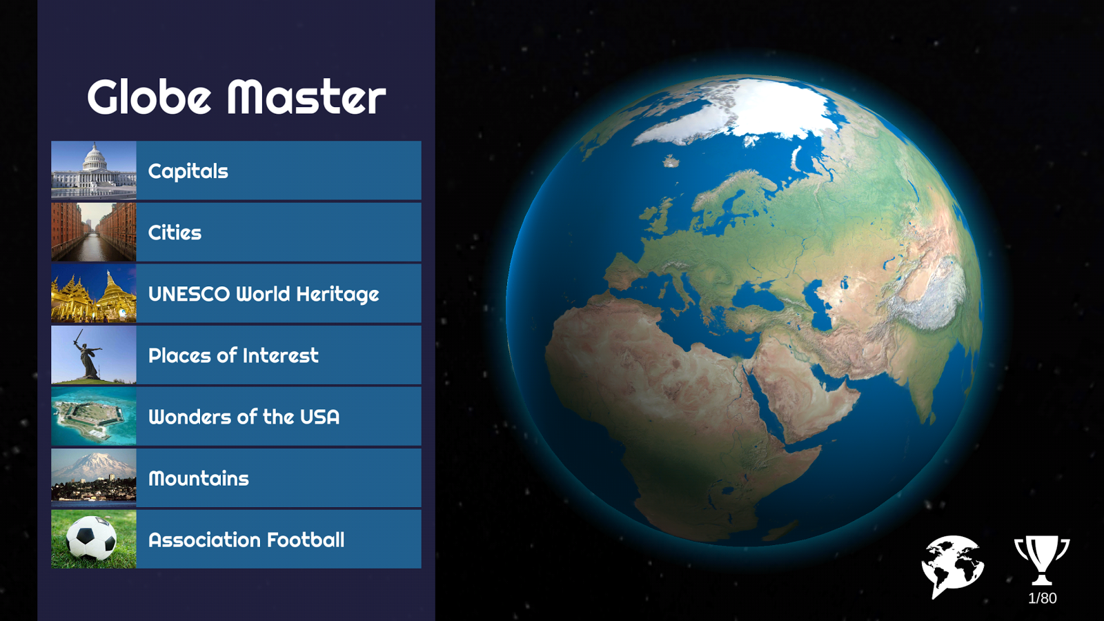 Globe Master D Android Apps On Google Play - Globe of usa