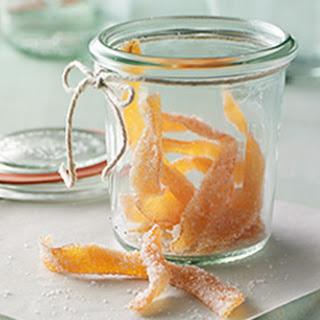 Candied Grapefruit Peel