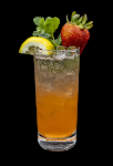 Strawberry Lemon Mojito