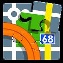 Locus 地圖 Pro- outdoor GPS icon