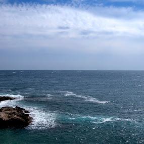 Cap d'Ail by Daniel Erstad - Landscapes Weather ( cote d'azur, monaco )