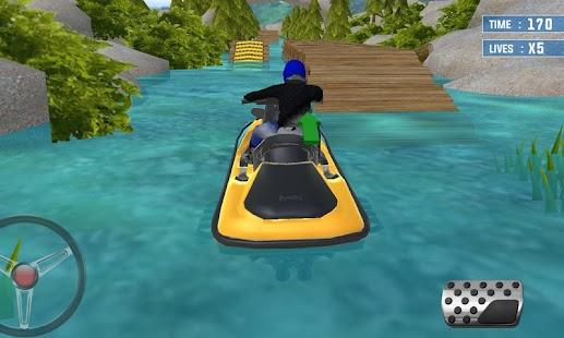 Jet Ski Driving Simulator 3D 2 - náhled