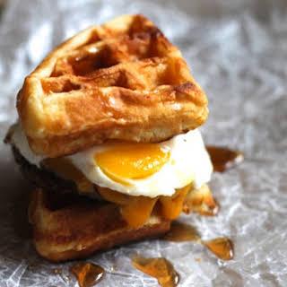 Waffle Breakfast Sandwich Recipes.