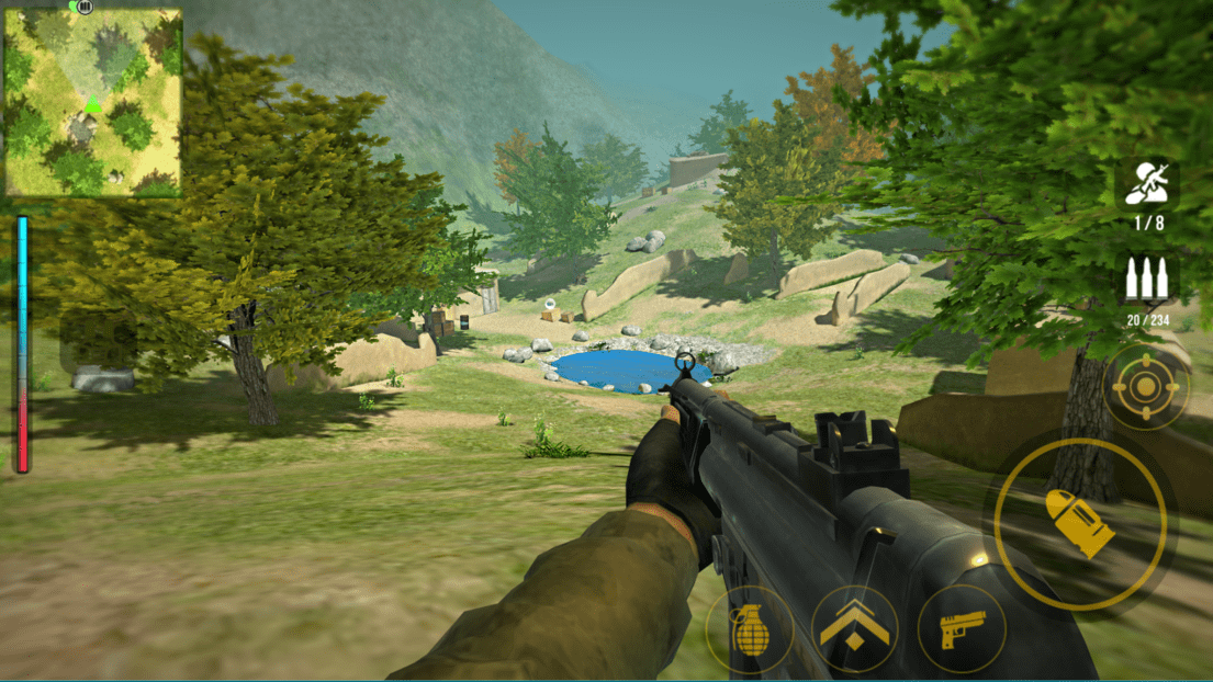 Yalghaar: FPS Shooter Game- screenshot