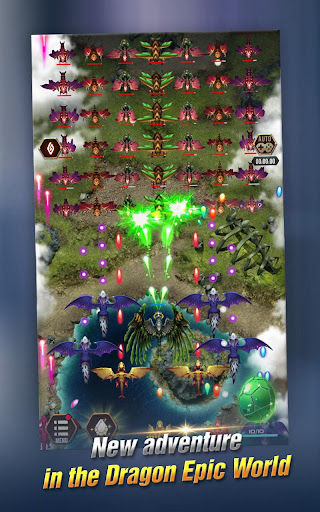 Dragon Epic - Idle & Merge - Arcade shooting game screenshots 14