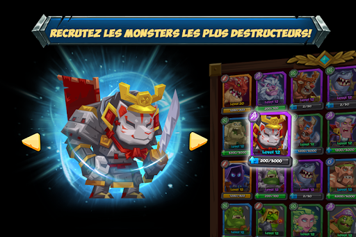 Tactical Monsters Rumble Arena -Tactics & Strategy  captures d'écran 2