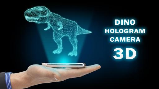 Dino Hologram Camera 3D