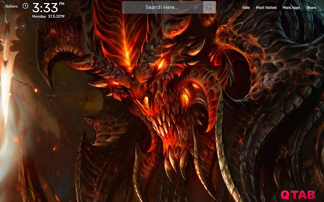 Diablo Game Wallpapers HD Theme