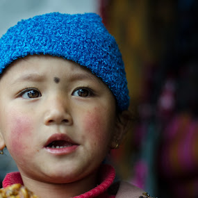 Expressions by Prabir Adhikary - Babies & Children Child Portraits ( expression, eyes that communicate, cute girl child, child portrait, curious eyes, expressive eyes, eyes,  )