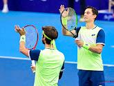 Sander Gillé en Joran Vliegen hebben in het dubbelspel het ATP-toernooi van Singapore op hun naam geschreven