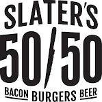 Logo for Slater's 50/50 Pasadena
