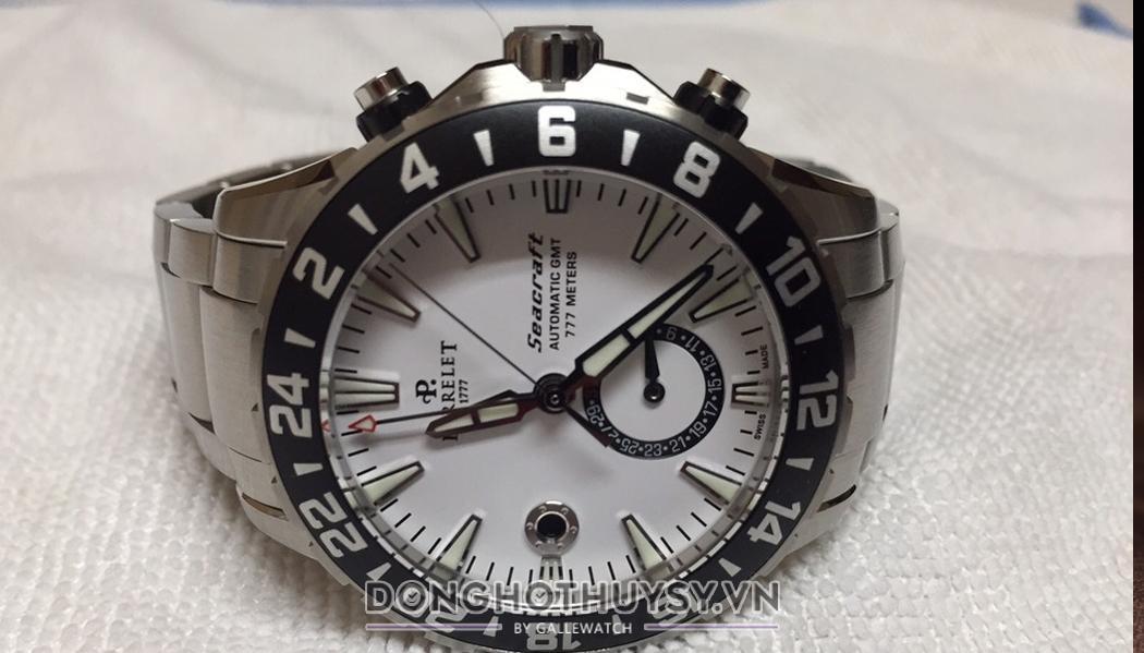 Đồng hồ Perrelet Diver Seacraft A1055/A thiết kế đồng hồ nam dây kim loại nổi bật