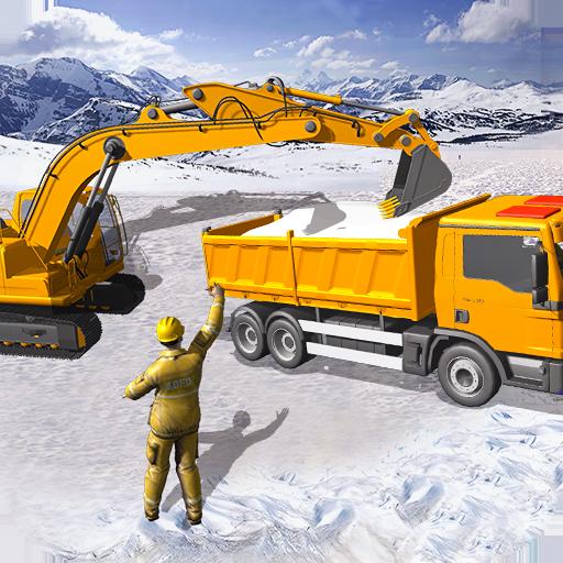 Grand Snow Excavator Machine Simulator 18