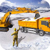Download Grand Snow Excavator Machine Simulator 18 Free