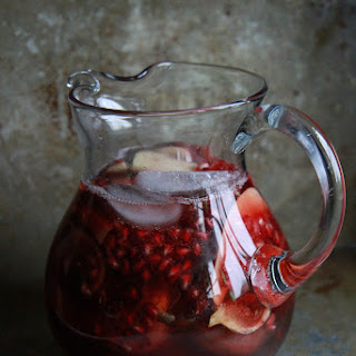 Autumn Sangria with Apples, Pomegranate and Figs Recipe