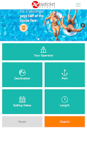 Taoticket - Specialists in Cruises- screenshot thumbnail