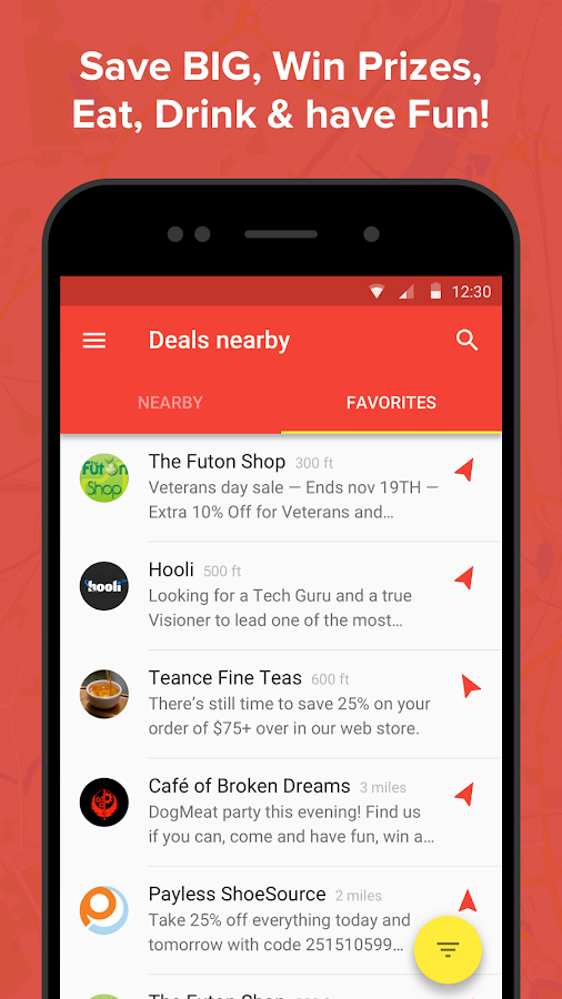 Inby: Sales & Deals App- screenshot