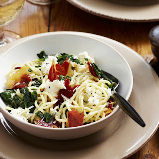 Spinach and Ricotta Spaghetti Recipe