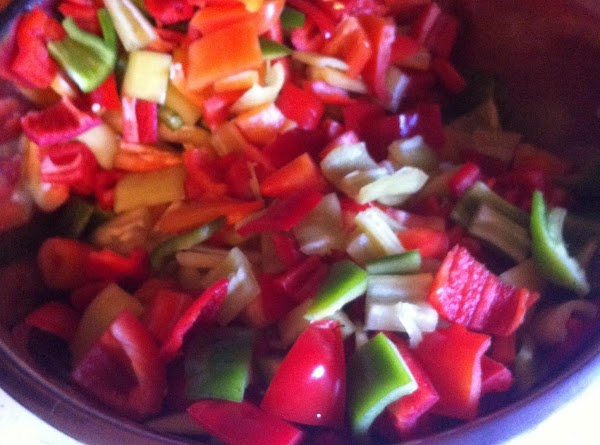 Wash and clean all peppers. If using hot peppers, put on rubber gloves. Cut...