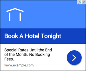 Example of richer text ad