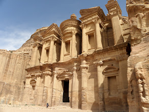 Photo: Monastery - it was worth the climb Petra, Jordan