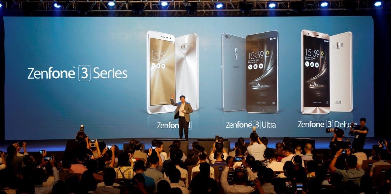 Asus giới thiệu hàng loạt sản phẩm mới tại họp báo Zenvolution Việt Nam