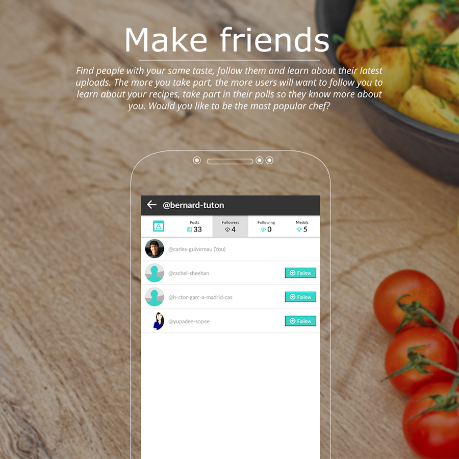 RecipesTroupe - Your Cooking Community- screenshot
