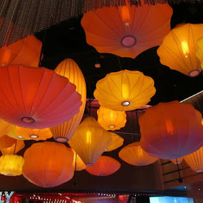 Colorful lanterns by Maricor Bayotas-Brizzi - Buildings & Architecture Other Interior (  )