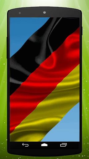 German Flag Live Wallpaper