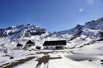 Photo: Schneeberg um 11 Uhr (+7 Grad)