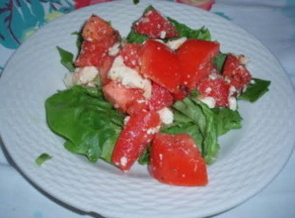 Feta Cheese And Tomato Salad