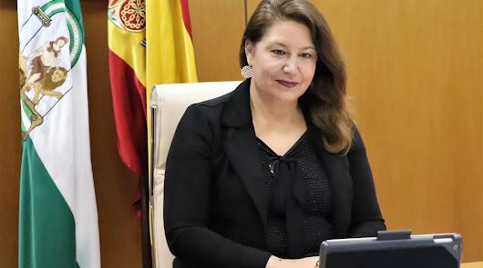La consejera de Agricultura pone en valor la política hidráulica de Andalucía