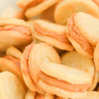 Homemade Ritz Peanut Butter Crackers.