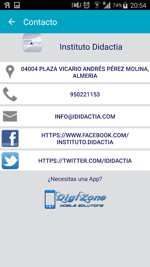 Instituto Didactia- screenshot