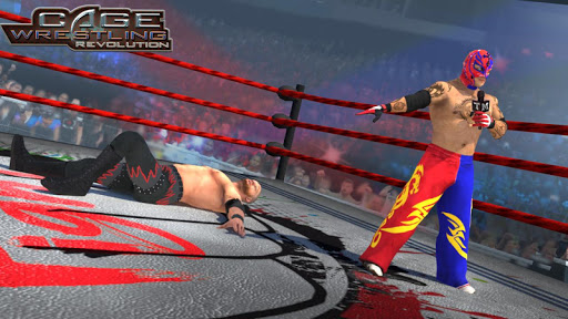 Wrestling Cage Revolution : Wrestling Games 2.3 screenshots 2
