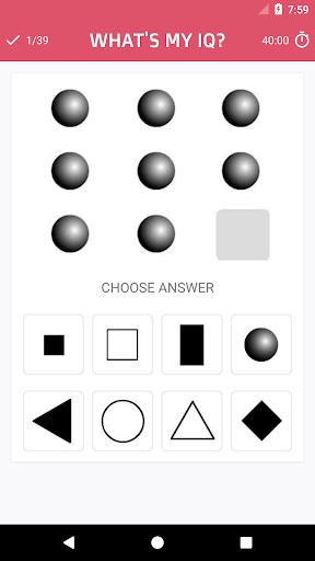 What's my IQ? ud83dudcaf 1.1 screenshots 2