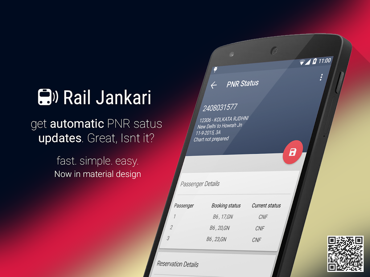Rail Jankari : Indian Railways- screenshot