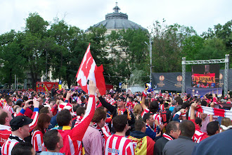 Photo: 09/05/12 - Athletico Madrid v Atletic Bilbao (Europa League Cup Final at the National Stadium, Bucharest) 3-0 - contributed by Gary Spooner