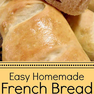 Easy Homemade French Bread.