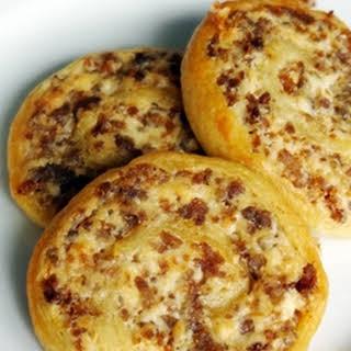 Sausage Cream Cheese Crescent Pinwheels.