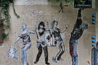 Photo: Street art - Sobr - Jef Aerosol -Paris XIIIe -La butte aux cailles