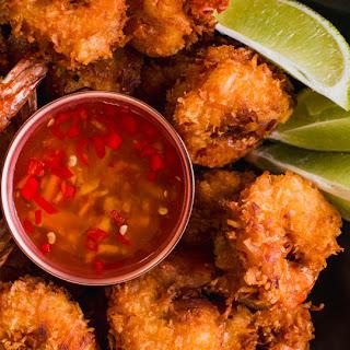 Fried Coconut Shrimp.