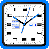 Square Analog Clock-7 Android APK Download Free By Style-7