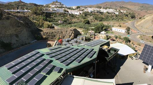 La Almazara de Canjáyar apuesta por el medio ambiente con las renovables