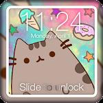Kawaii Pusheen Cat Anime App Lock