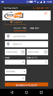 Book Flights Tickets - náhled