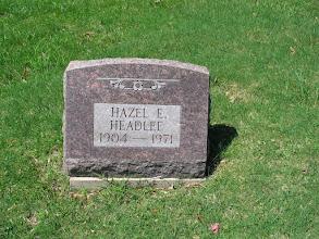 Photo: Headlee, Hazel E.