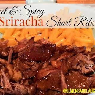 Sweet and Spicy Sriracha Short Ribs